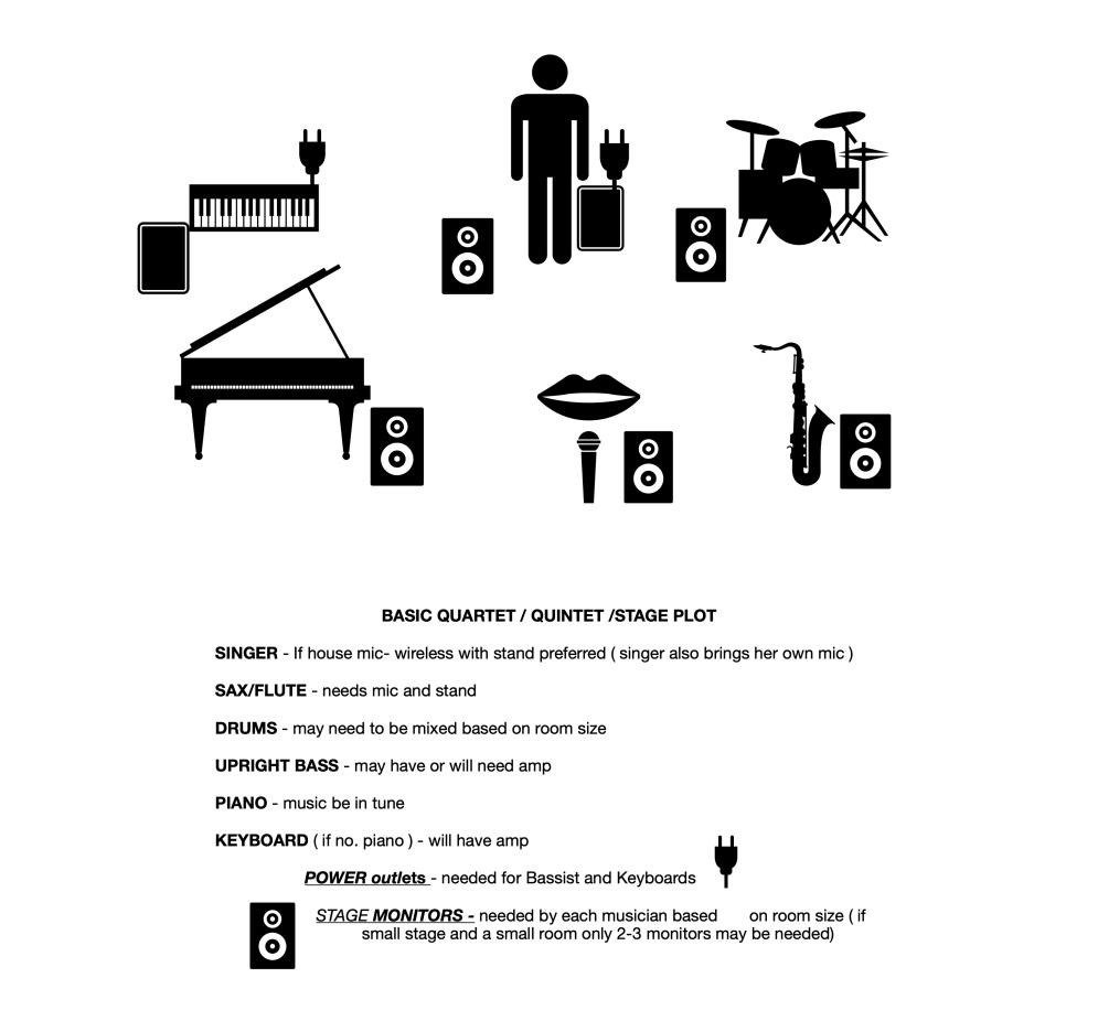 Carolyn Lee Jones - Stage Plot